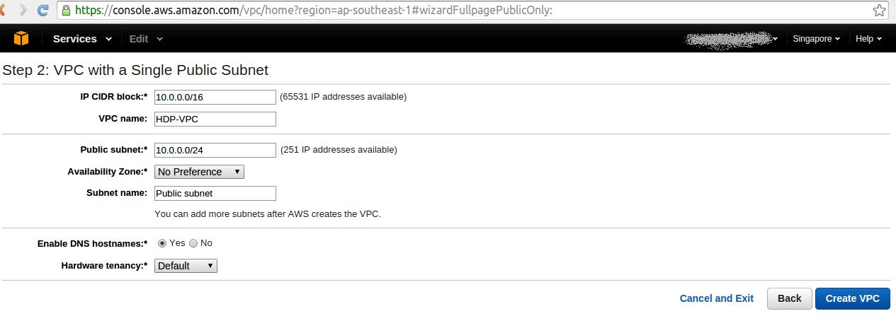 VPC Configuration